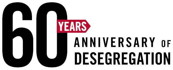 60th Anniversary of Desegregation Banner