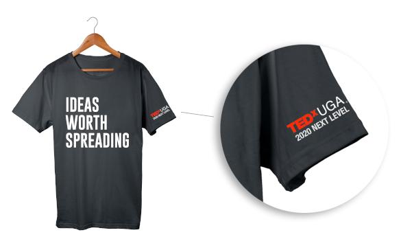 TEDxUGA t-shirt front