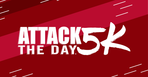 Attack the Day 5K banner