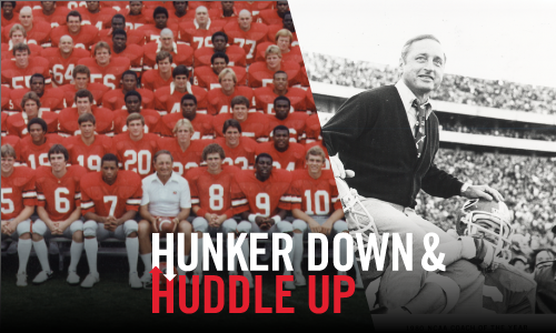 Hunker Down & Huddle Up